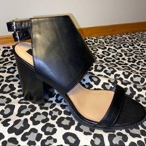 NEW Black Chunky Heel Shoes
